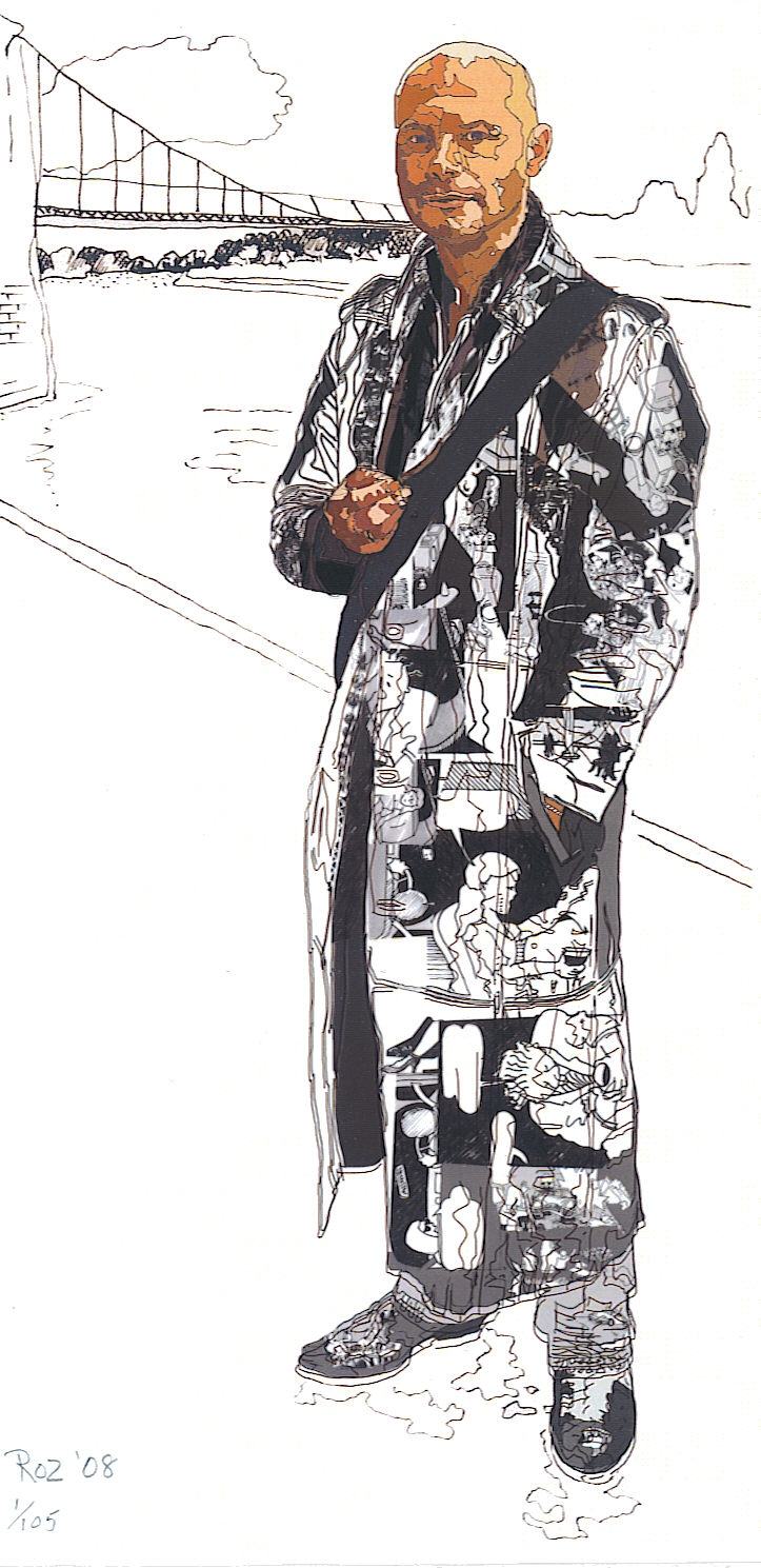 Portrait Of Stephen By Rosalind Penfold