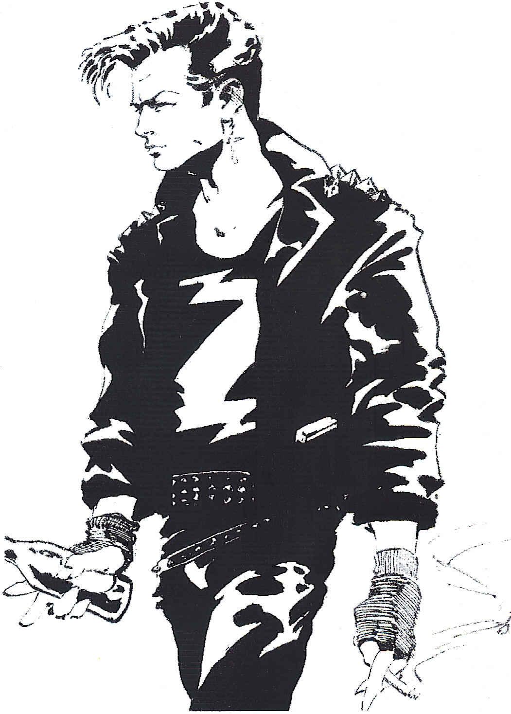 Self portrait of Stephen as Zenith