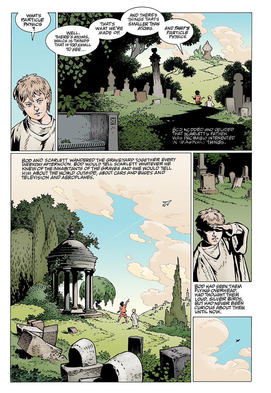 the graveyard book parent review