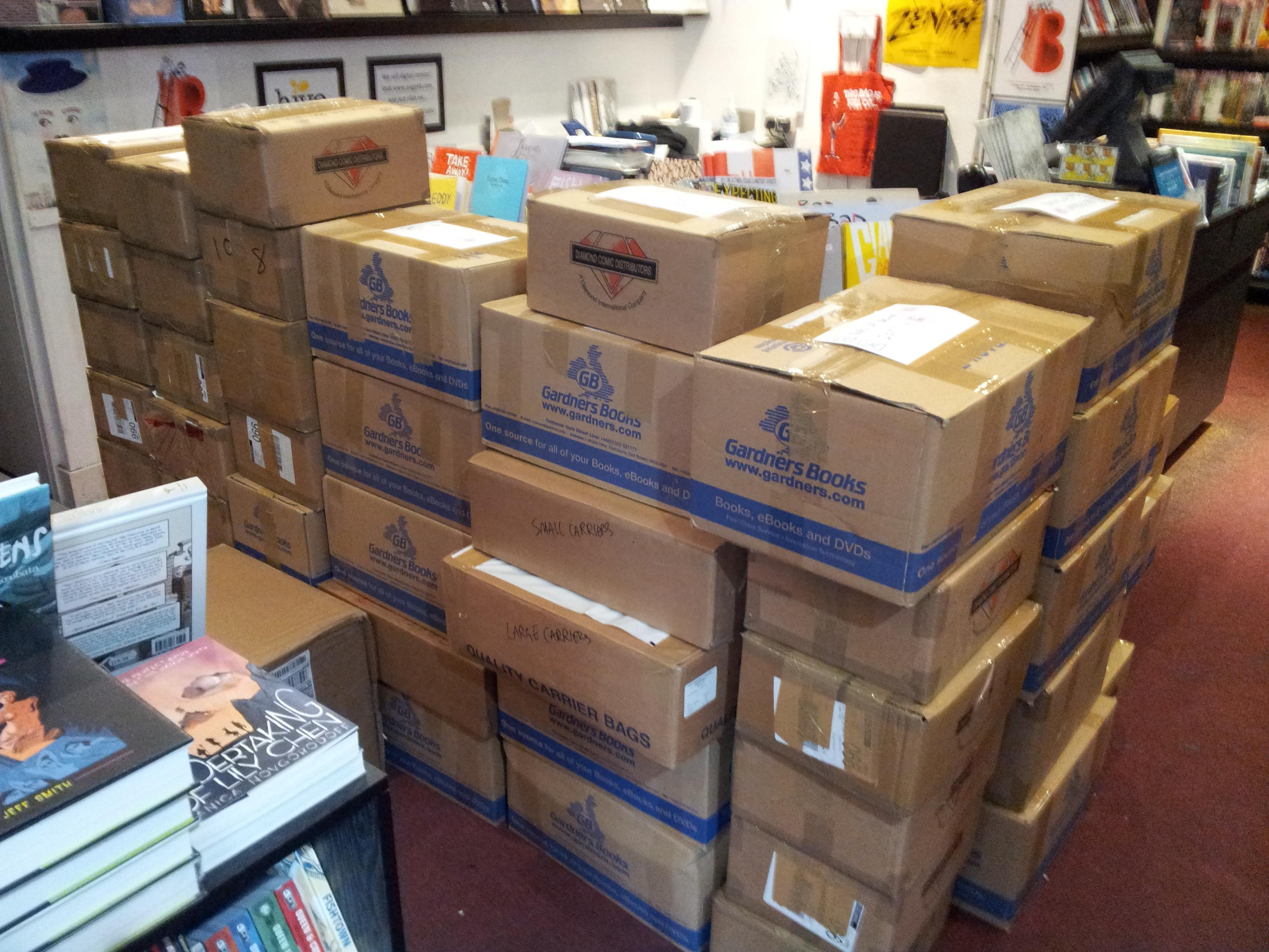Boxes ...