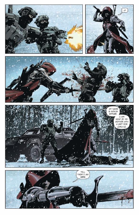 Lazarus 3 combat