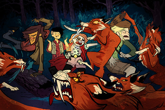 Lumberjanes foxes