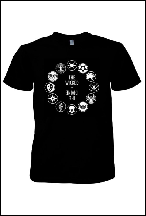 wicked and divine pantheon tshirt