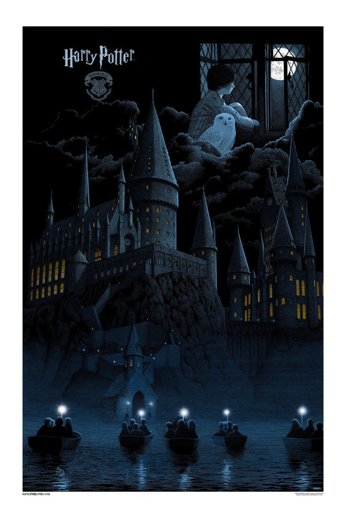 Gerhard Harry Potter print