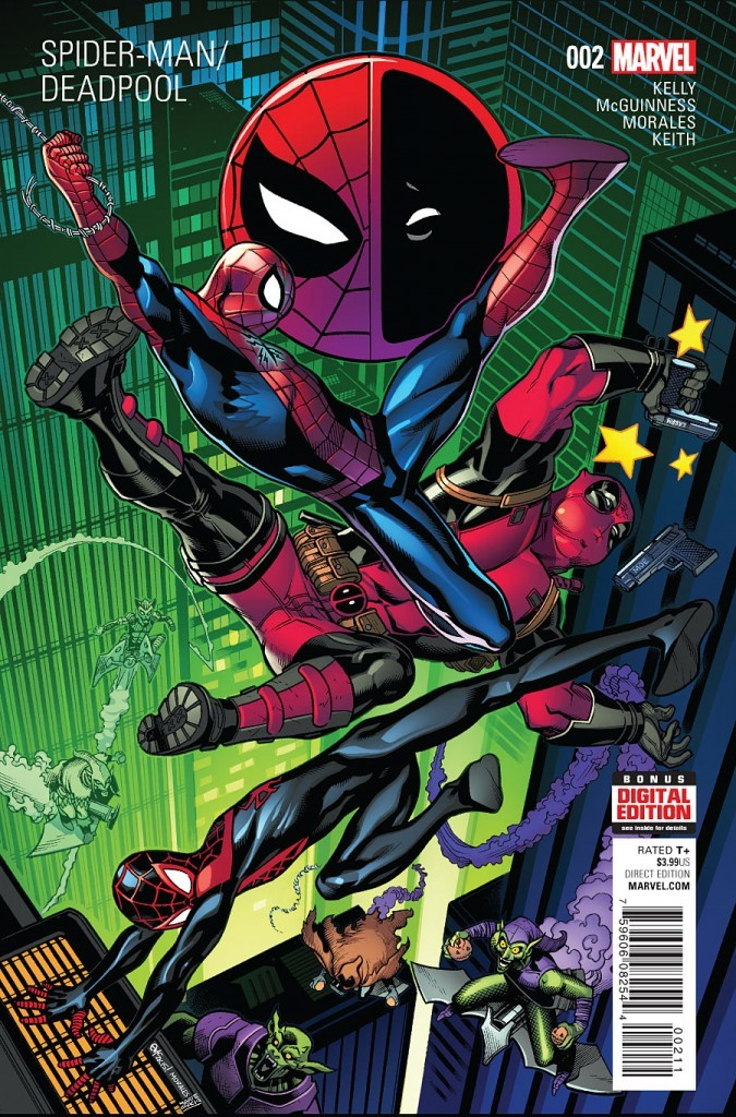 SpiderMan Deadpool cover