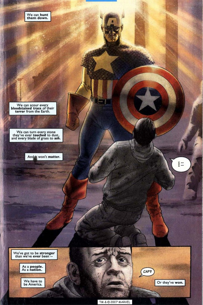 Captain America Marvel Knights 2