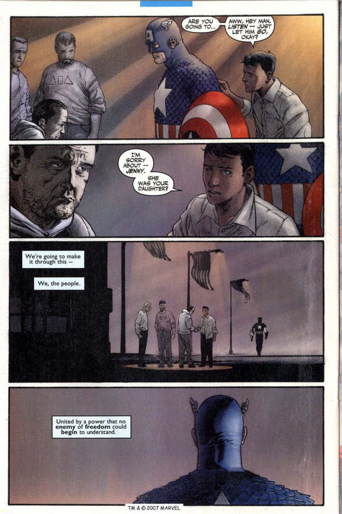 Captain America Marvel Knights 3