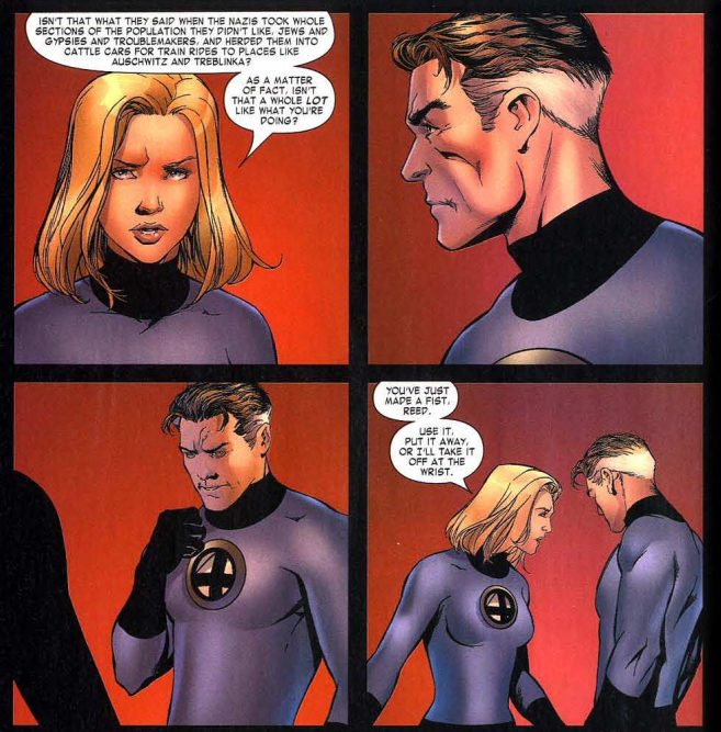 Civil War Fantastic Four 1