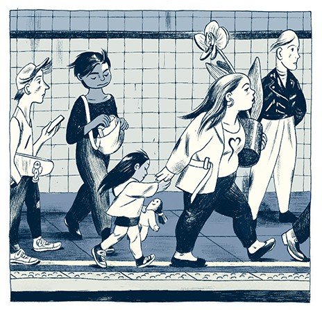 Jillian Tamaki Subway
