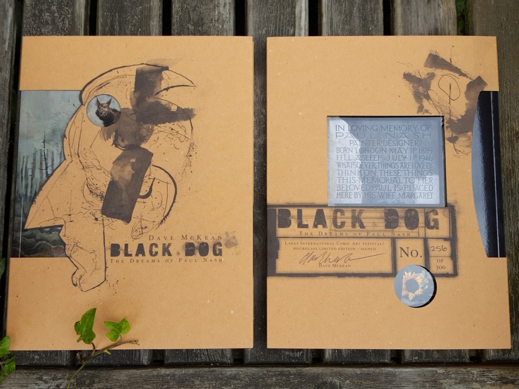 Black Dog Dustjacket