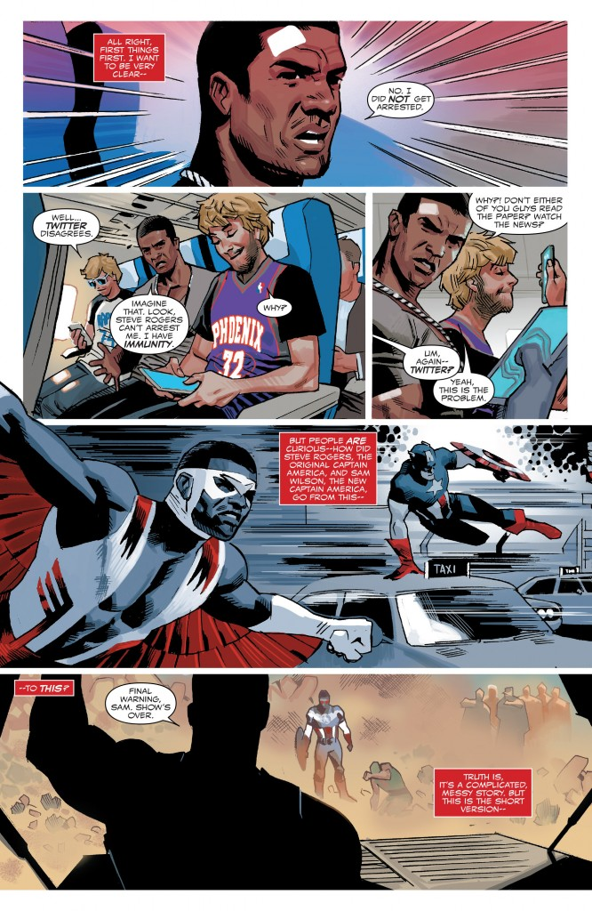 Captain America Sam Wilson 1