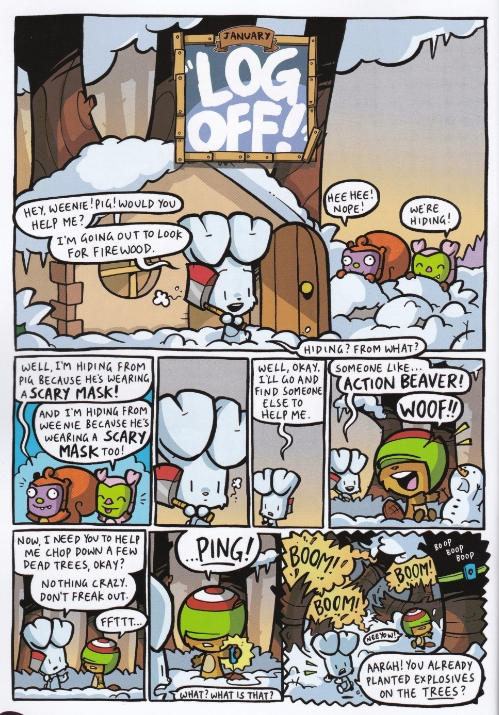 Bunny vs Monkey book 3 2