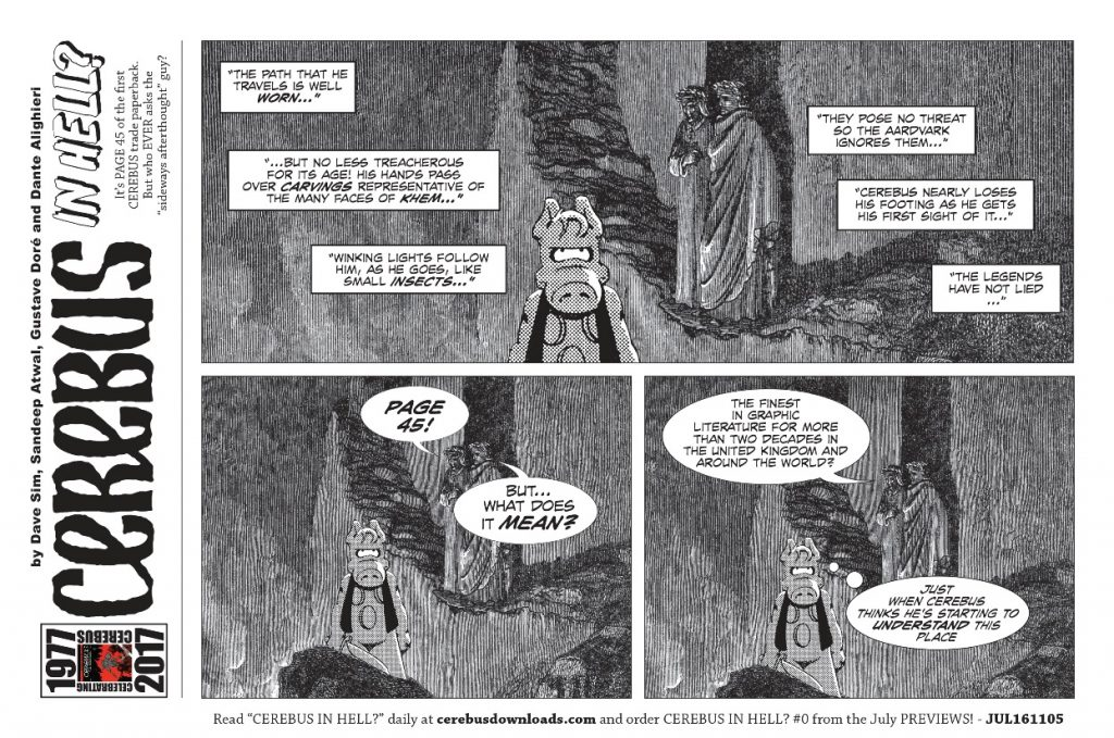 Cerebus In Hell Page 45 smaller