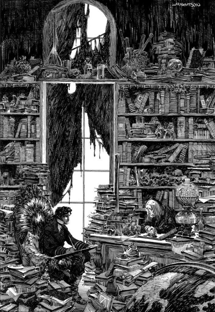 Frankenstein by Bernie Wrightson 1