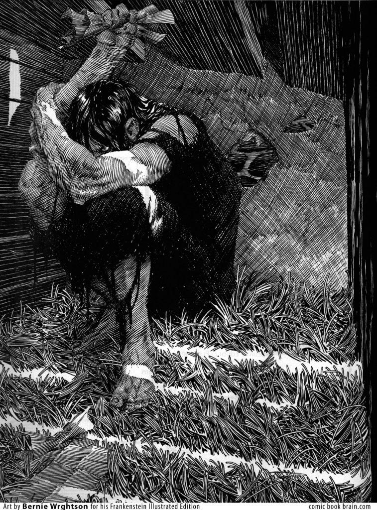 Frankenstein by Bernie Wrightson 2