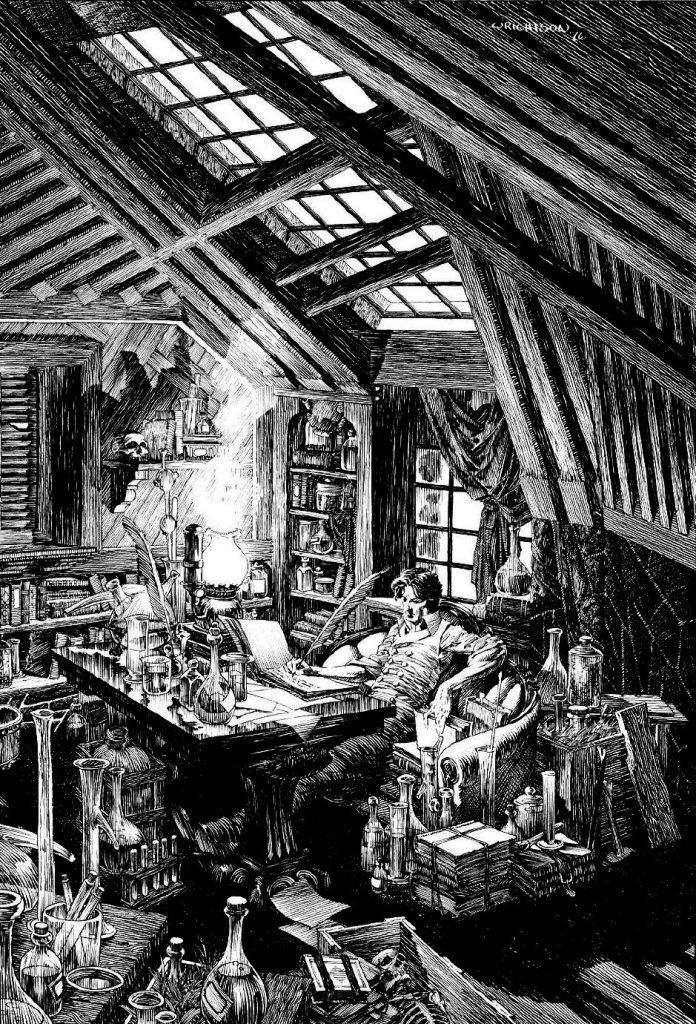 Frankenstein by Bernie Wrightson 3