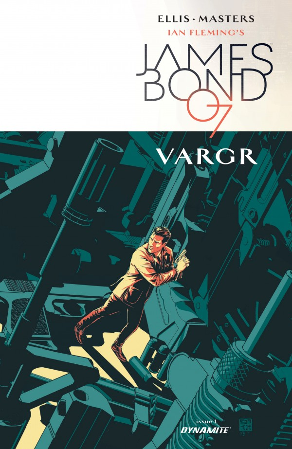 James Bond book cover