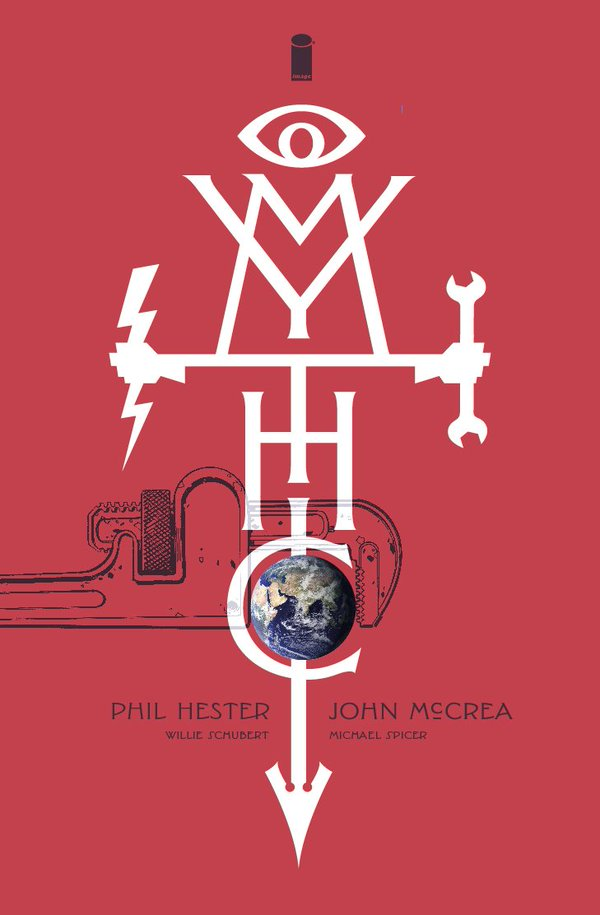 Mythic vol 1 cover