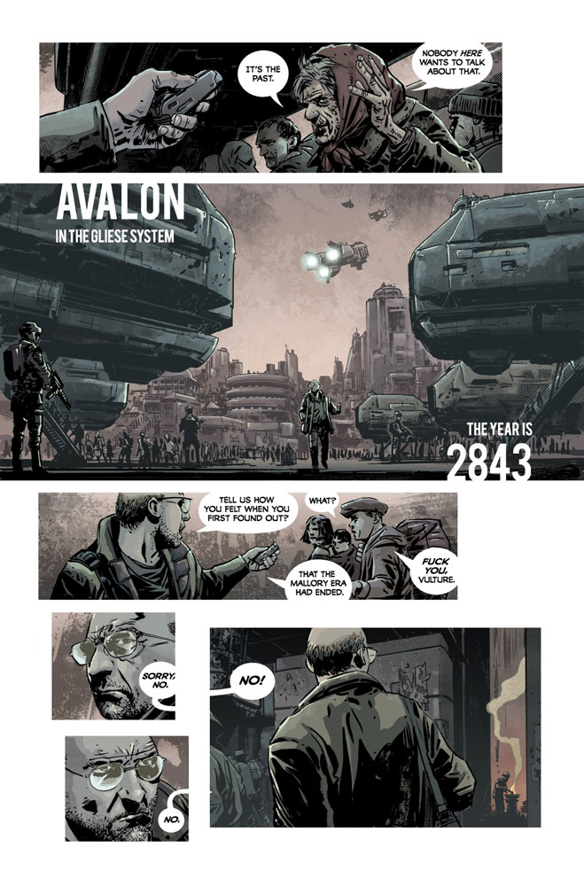 Invisible Republic vol 1 1