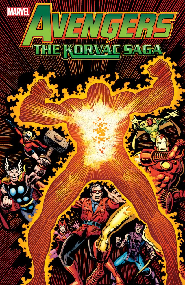 Avengers Korvac cover