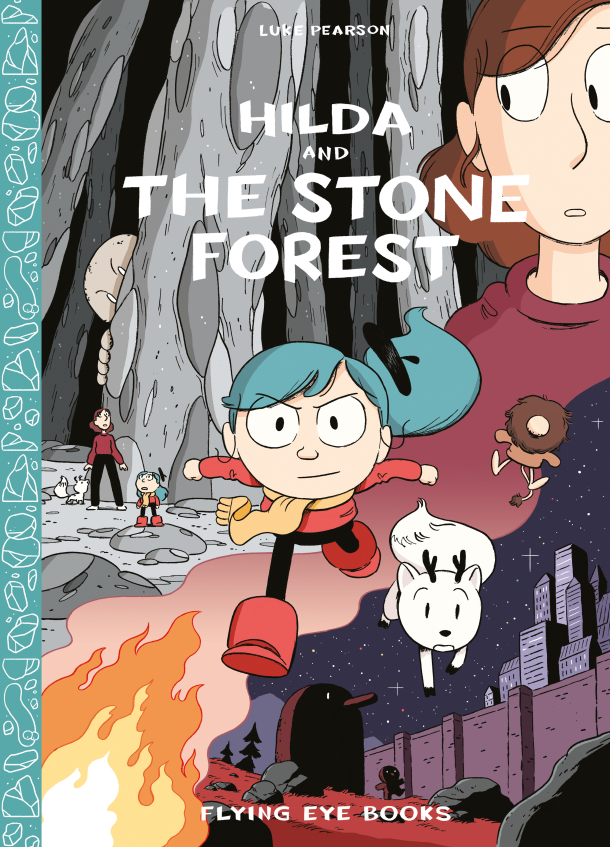 Hilda And The Stone Forest actual cover