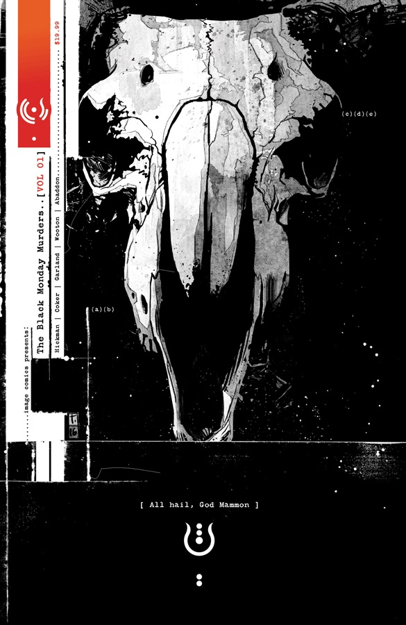 Black Monday Murders vol 1 cover