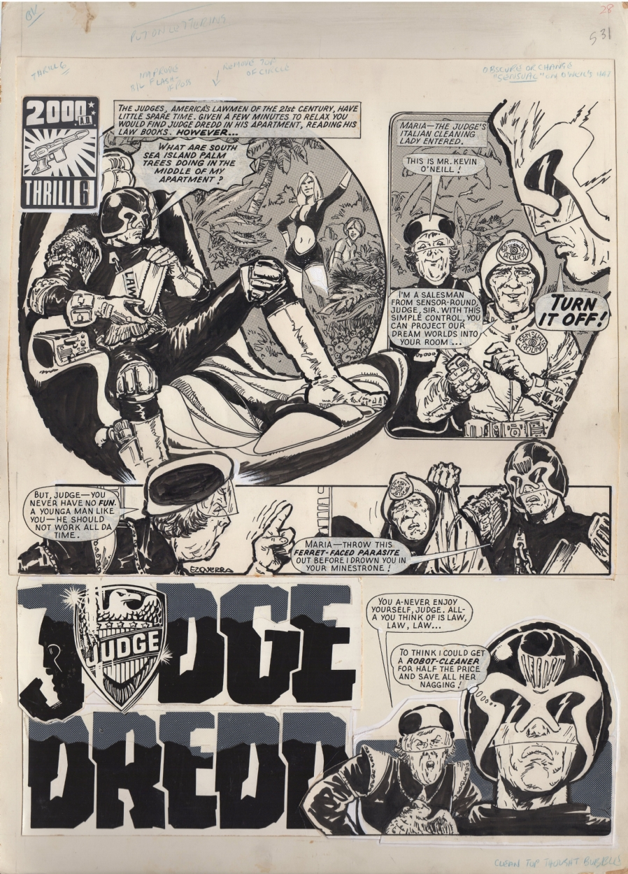 page 45 comic graphic novel reviews 2017 week four no judge dredd was and remains both hero and villain he postures in his pursuit of justice but all dredd seeks truly is punishment