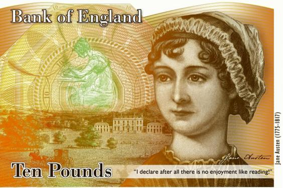 ITEM! Jane Austen 10 pound note