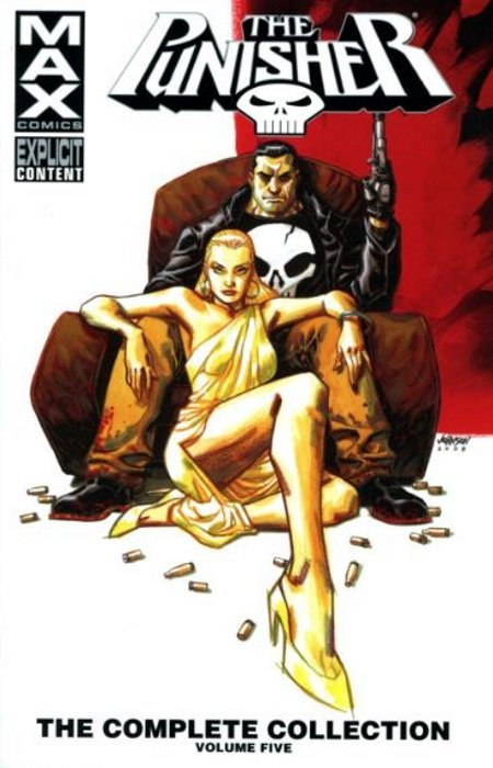 Punisher Max vol 5 cover