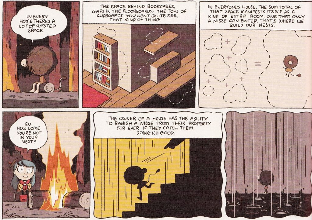 Hilda and her mother are slowly adjusting to life in the city, but Hilda still yearns for camping under canvas. When her mother is nearly slapped in the ...