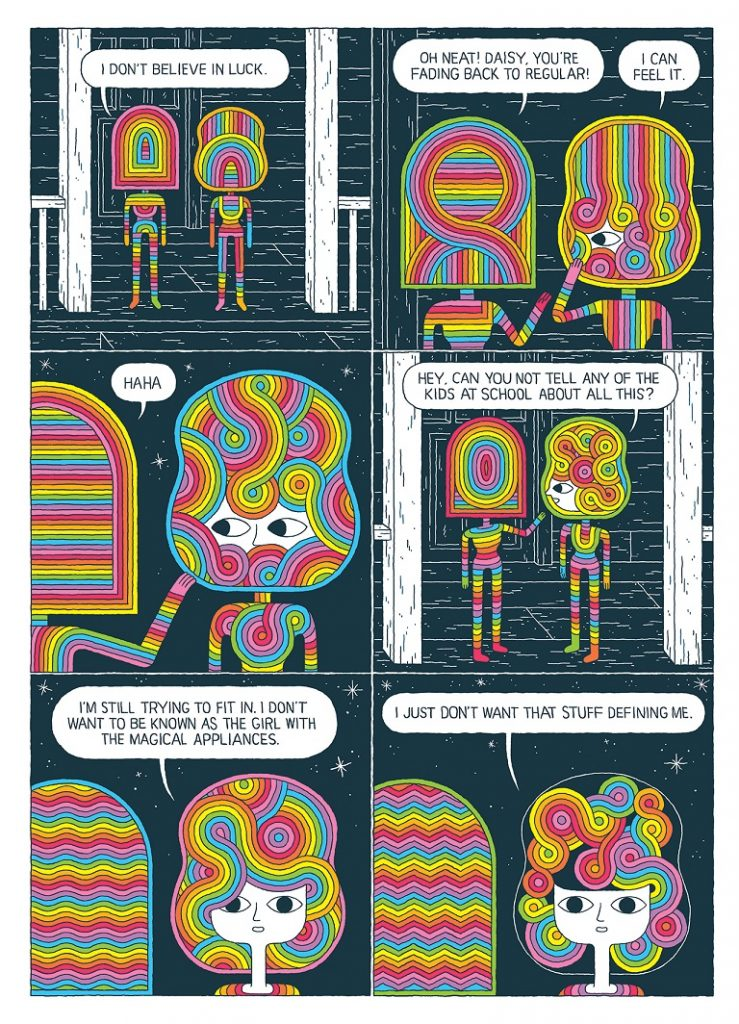 Admin author at page 45 comics graphic novels independent and on the very previous page daisy had quite clearly asked jeanne claude not to tell anyone after all if youd discovered a psychedelic portal to an malvernweather Images