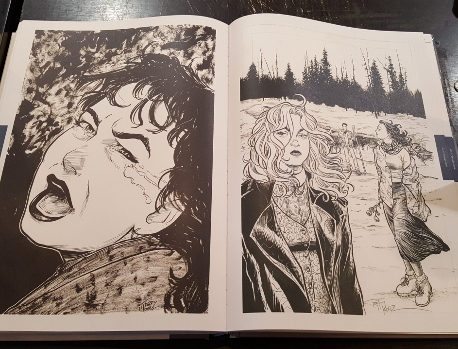 I Love That You Can Even See How Much Ink Is Being Laid Down On The Close Ups Of Katchoo And Francine