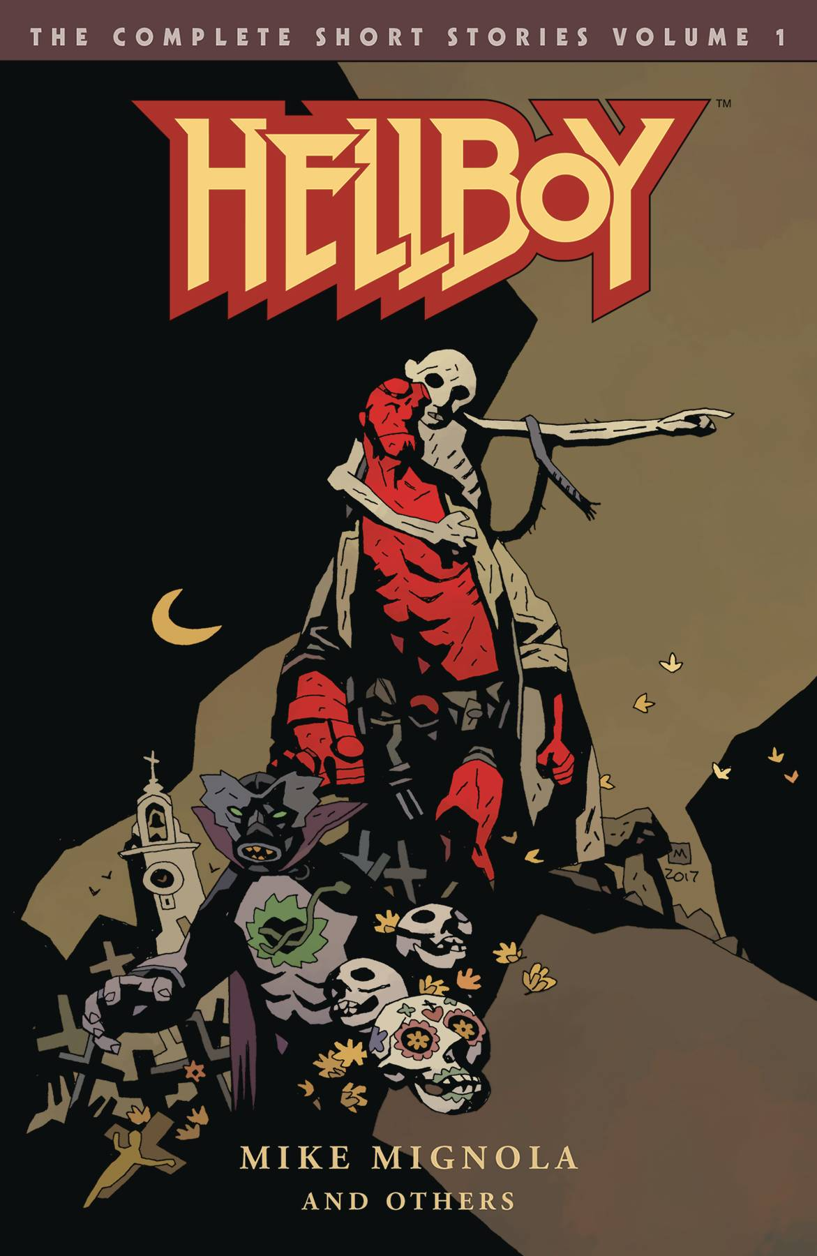 Reviews archives page 45 comics graphic novels independent a whopping 368 page volume which covers hellboys adventures from 1947 to 1961 in chronological order as do all the hellboy omnibus editions kicking malvernweather Gallery