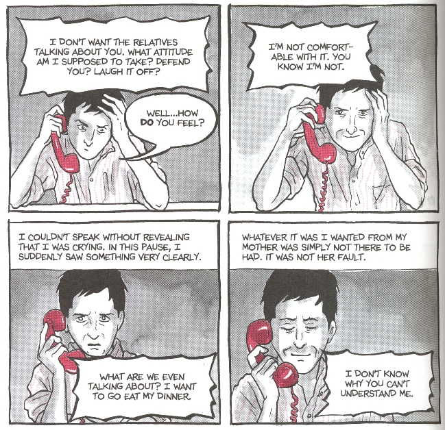 a literary analysis of fun home a novel by alison bechdel On biocom, learn more about esteemed illustrator and writer alison bechdel, whose graphic novel 'fun home' was named a top pick by 'time' magazine and adapted into an award-winning musical.
