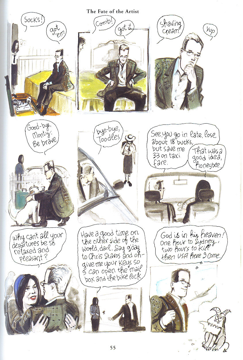 The Fate Of Artist By Eddie Campbell