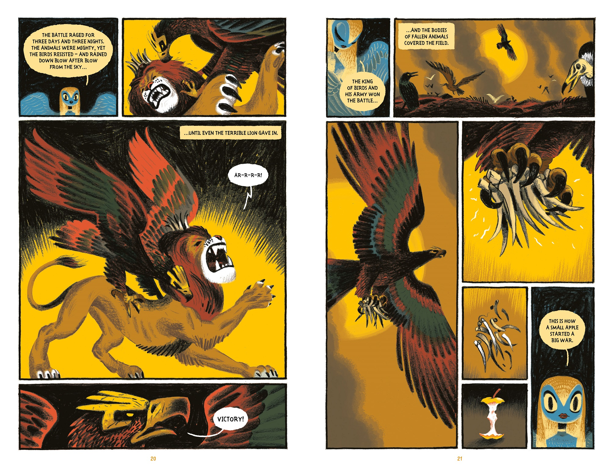 The king of the birds by alexander utkin gamayun tales vol 1 the king of birds fandeluxe Image collections