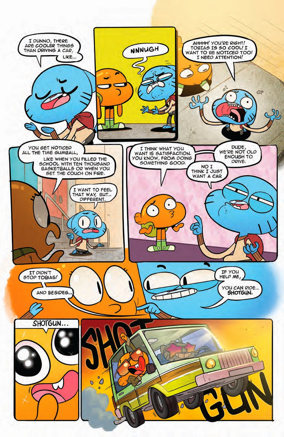 Amazing World Of Gumball Anime Porn Comic page 45 comic & graphic novel reviews july 2015 week three